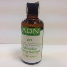 ADN Derma Peel Whitening Dream Peel 20 - Лосьон-пилинг для лица обновляющий 100 мл.