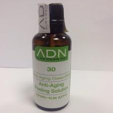 ADN Derma Peel Anti-Aging Dream Peel 30 - Лосьон-пилинг для лица омолаживающий 100 мл.