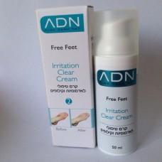 ADN Free Feet Irritation Clear Cream - Крем успокаивающий для ног 50 мл.