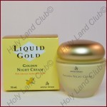 Anna Lotan Liquid Gold Golden Night Cream - Крем ночной «Золотой» 50 мл.