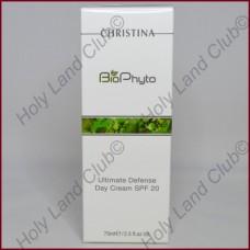 Christina Bio Phyto Ultimate Defense Day Cream SPF 20 - Дневной крем «Абсолютная защита» SPF 20 75 мл.