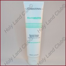 Christina Elastin Collagen Placental Enzyme Moisture Cream - Увлажняющий крем с растительными энзимами, коллагеном и эластином для жирной и комбинированной кожи