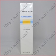 Christina Fluoroxygen + C Rejuvenating LipoC-20 Lightening Day Serum - Дневная осветляющая сыворотка 30 мл.