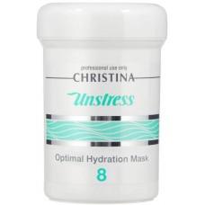 Christina Unstress Optimal Hydration Mask - Оптимальная увлажняющая маска (шаг 8) 250 мл.