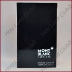 Montblanc Emblem (EDT) - Туалетная вода для мужчин 100 мл.