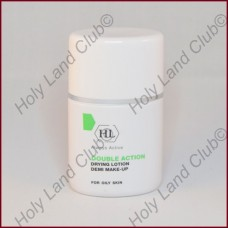 Holy Land Double Action Drying Lotion with Make-Up - Подсушивающий лосьон с тоном 30 мл.
