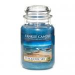 Yankee Candle Large Jar Turquoise Sky - Бирюзовое Небо большая свеча в банке