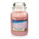 Yankee Candle Large Jar Pink Sands - Розовые Пески большая свеча в банке