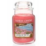 Yankee Candle Large Jar Garden By The Sea - Сад у Моря большая свеча в банке