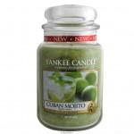 Yankee Candle Large Jar Cuban Mojito - Кубинский Мохито большая свеча в банке